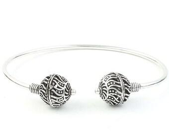Nova Bracelet, Ethnic Bangle, Lower Arm Cuff, Tribal, Boho, Bohemian, Gypsy, Festival Jewelry, Stacking Bracelets