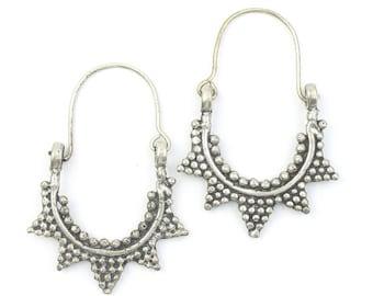 Kunduz Earrings, Middle Eastern, Vintage, Afghani, Boho, Bohemian, Tribal Earrings, Festival Jewelry, Gypsy Earrings, Ethnic, Hippie