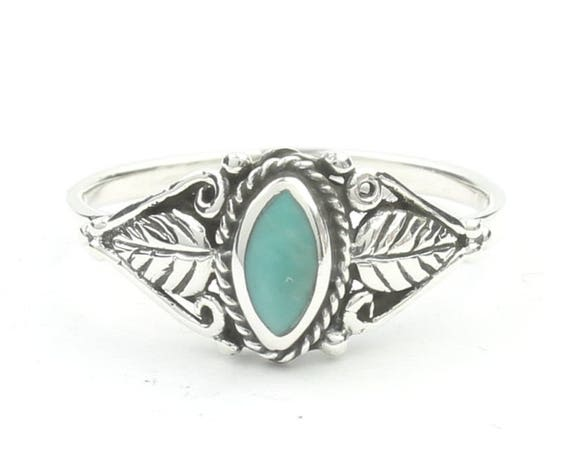 Wild Spirit Turquoise Ring, Sterling Silver Turquoise Ring, 925, Boho, Gypsy, Festival Jewelry, Gemstone, Southwestern