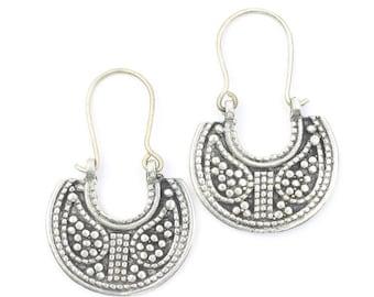 Kabul Earrings, Middle Eastern, Vintage, Afghani, Boho, Bohemian, Tribal Earrings, Festival Jewelry, Gypsy Earrings, Ethnic, Hippie