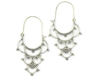 Gardez Earrings, Large, Middle Eastern, Vintage, Afghani, Boho, Bohemian, Tribal Earrings, Festival Jewelry, Gypsy Earrings, Ethnic, Hippie