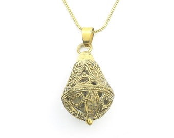 Kochi Necklace, Ornate Pendant, Yoga Jewelry, Meditation, Festival Jewelry, Boho, Bohemian, Gypsy, Hippie, Spiritual
