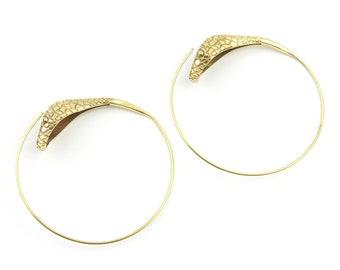 LARGE Snake Earrings, Spiral Serpent Earrings, Cobra earrings, Boho Jewelry, Tribal Earrings, Festival Jewelry, Gypsy Earrings, Ethnic