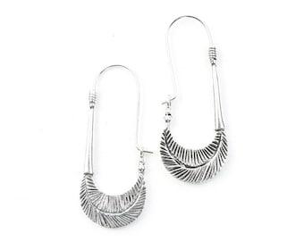 Batu Earrings, Drop Earrings, Ethnic, Tribal Brass Earrings, Festival Earrings, Gypsy Earrings