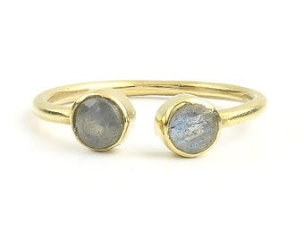Orissa  Brass Ring, Labradorite Ring , Meditation, Yoga Jewelry, Tribal, Ethnic Ring, Gypsy, Hippie Jewelry, Festival Jewelry, Boho