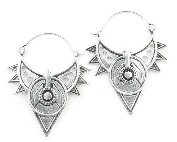 Safaga Earrings, Tribal Earrings, Modern Earrings, Festival, Gypsy Earrings, Ethnic