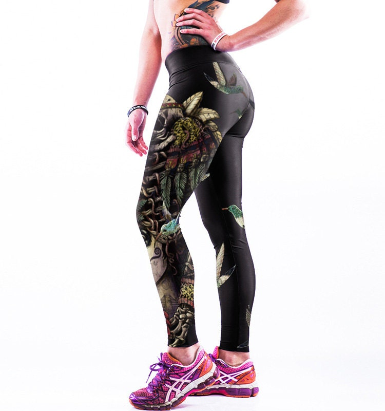 8c2d18197673 Digital Printed Skull Leggings