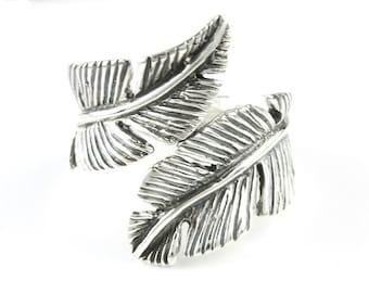 Feather Flight Ring, Sterling Silver Ring, 925, Boho, Gypsy, Festival Jewelry, Hippie Jewelry, Southwestern, Spiritual