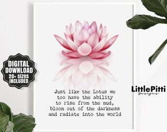 Buddha Quote Art Etsy