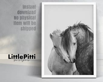 Horse print, horse art, Black and White Photography, horse painting, horse decor, equestrian art, equestrian print, equestrian decor, horses