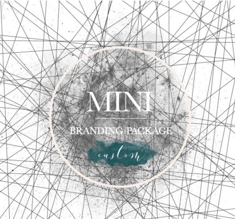 Save Now Custom Mini Branding Website Logo Design Brand Etsy