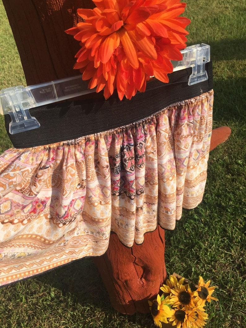 Handmade Boho Style Mini Skirt