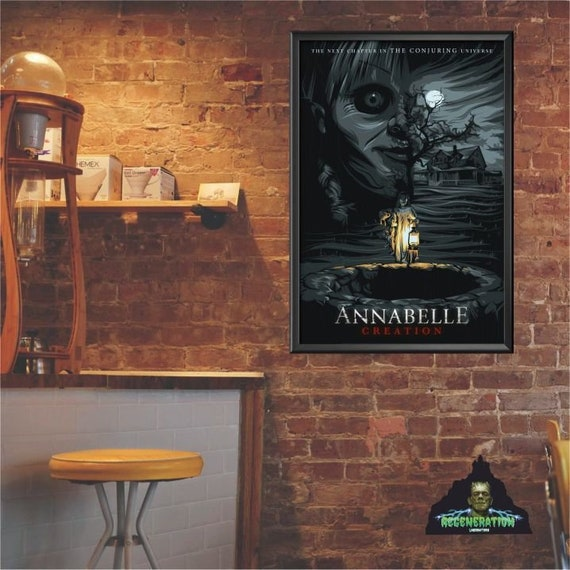 The Conjuring Universe Themed Posters Etsy