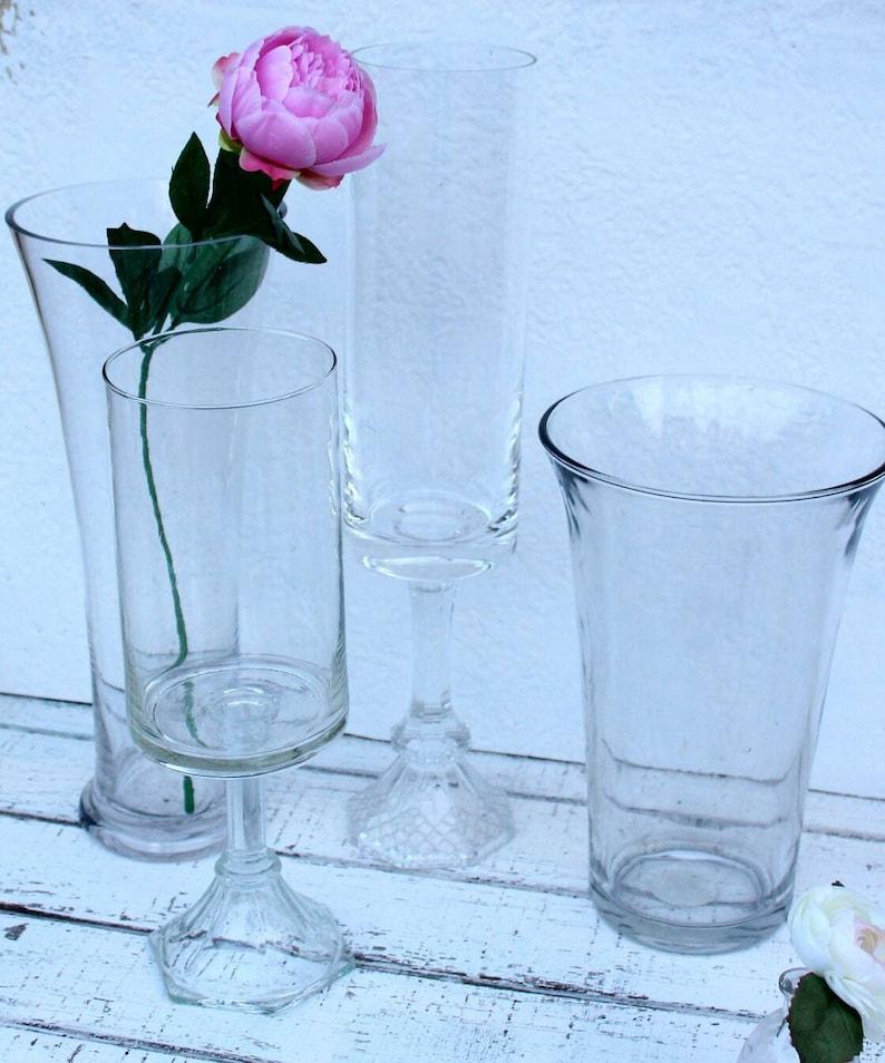 Remarkable 4 Tall Vases For Centerpieces Large Glass Vases Floral Vases Wedding Vases Download Free Architecture Designs Oxytwazosbritishbridgeorg