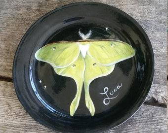 Luna Moth Trinket Dish