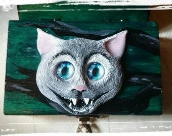 Cheshire Cat Trinket Box
