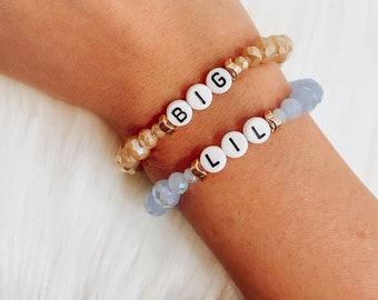 BIG LIL sorority sis bracelet