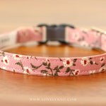 Blooming Dahlia Cat Collar – Pink