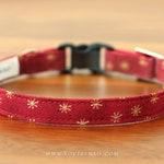 Christmas Cat Collar – Starlight / Holiday Cat Collar / Xmas Cat Collar