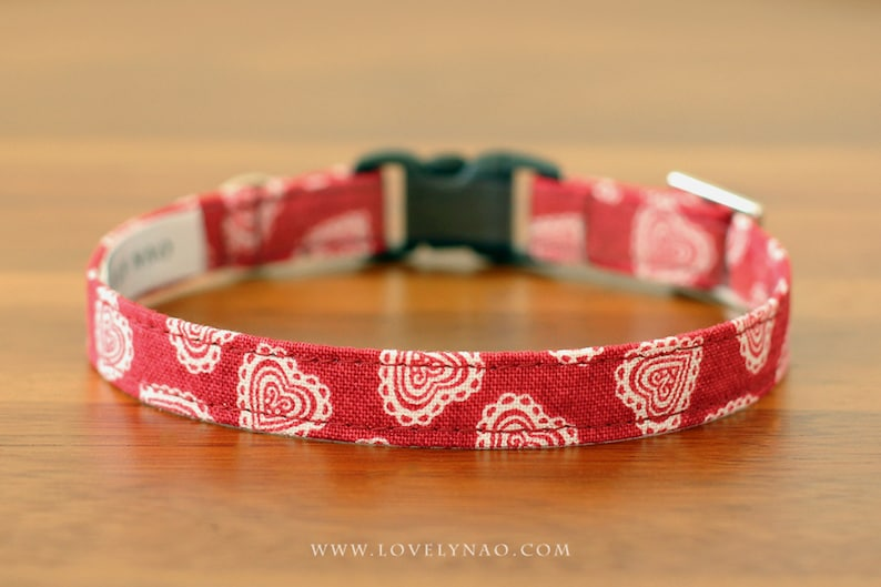 Valentine's Day Cat Collar  Love song image 0
