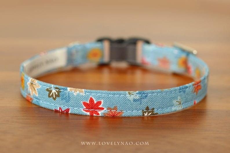 Maple Story Cat Collar  Blue image 0