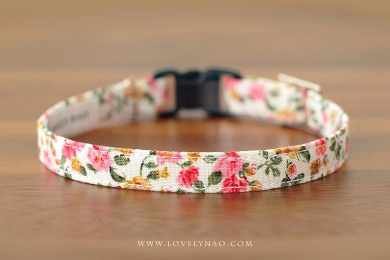 Vivi Fleur Cat  Collar image 0