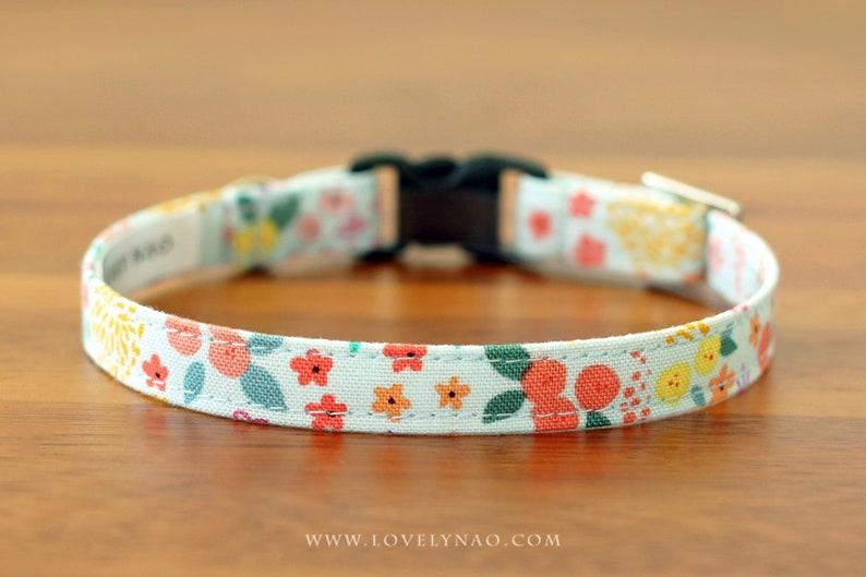 Petit Fleur Cat Collar image 0