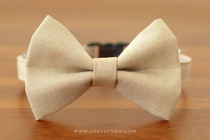 Maple Leaf Cat Bow Tie Collar image 0