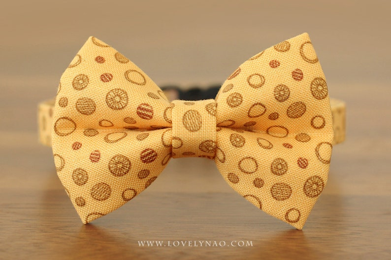 Valentine's Day Cat Bow Tie Collar  Cookies 'N Donuts image 0