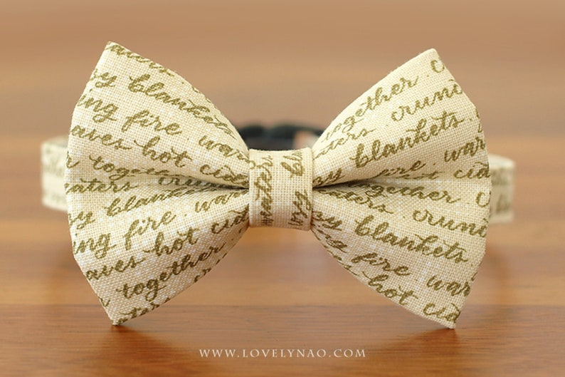 Fairy Story Cat Bow Tie Collar image 0