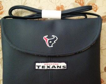 Houston Texans Blue Cross Body Purse