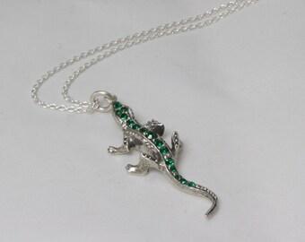 Gecko Necklace