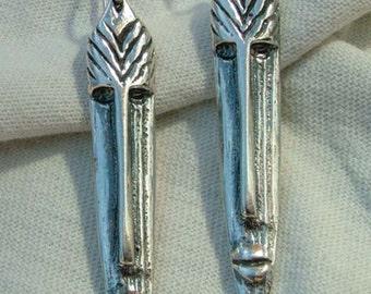 Long Mask Drop Earrings