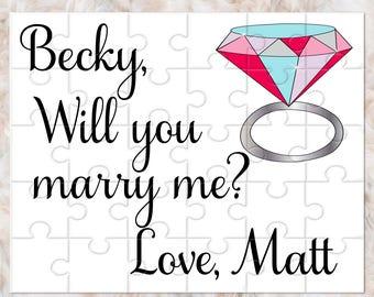 Marriage Proposal, Marriage Proposal Puzzle, Proposal Idea, Will You Marry me, Marry Me Ideas, Marry me Sign, Unique Proposal Idea, Propose
