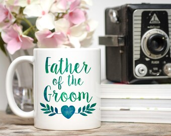 Father of the Groom Gift, Wedding Gift Dad, Groom's Father Gift, Wedding Gift Parents, Wedding Party Gift,  Father of the Groom Mug, Groom