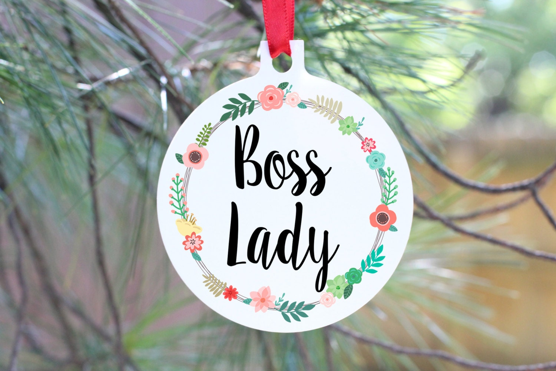 Chefin Ornament beste Chef Geschenk Manager Geschenk Boss | Etsy