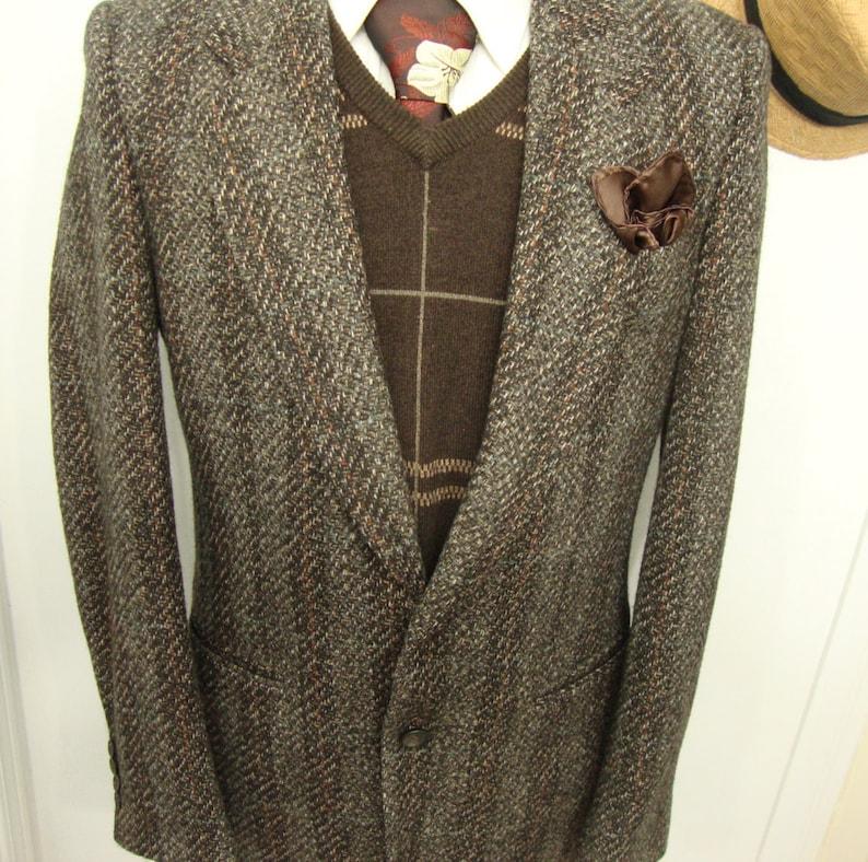 195b93d8df337 Robotnik rocznika Unii wykonane wełny garnitur kurtka 1950 | Etsy