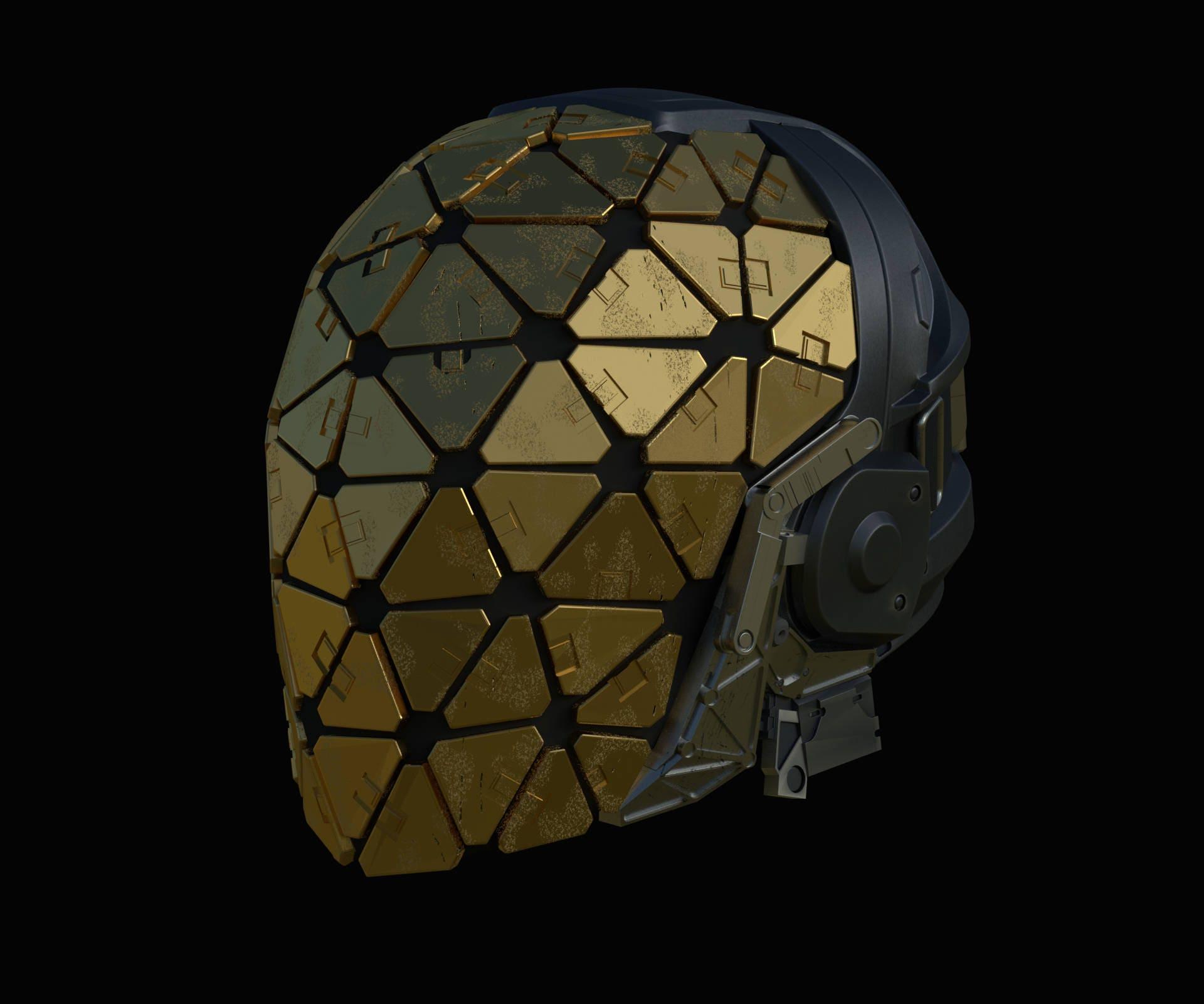 c9b58eb4c77 3D Model of Helmet from Deus Ex Mankind Divided for