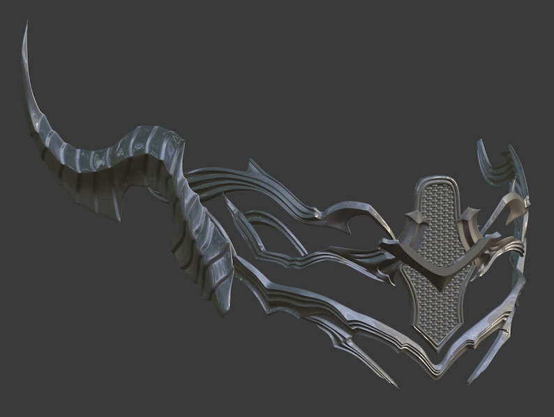 3D Model of Kingsglaive Nyx Ulric mask from Final Fantasy XV