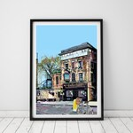 Prospect of Whitby Pub, Wapping, London Art Print