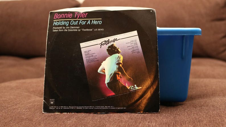 Footloose 1984 Bonnie Tyler Jahrgang 7 45 Rekord W Etsy