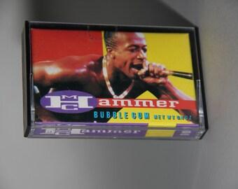 MC Hammer Bubblegum Vintage 1980s-1990s Tape Cassette Candy Box Scratchin Vocoder Popping Old School Funk Roland TR 808 909 Drum Machine
