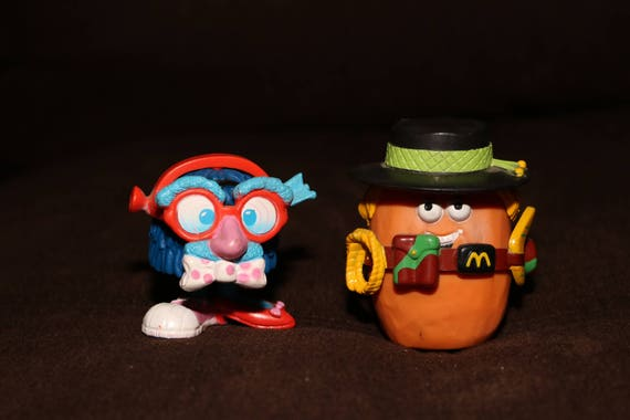 1980s McDonalds Toys Happy Meal Toy Nugget 80s 90s