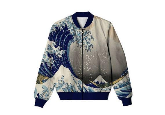 Unisex bomber jacket Basquiat Bomber-jacket full print gift for her gift for him gift ideas 28U36E2s