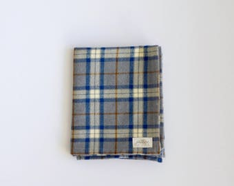 Mammoth Plaid Flannel Throw, Lap Blanket, Flannel Plaid Blanket, Blanket for End of Bed, End of Bed Throw, Camping blanket, Camping gear, Ca