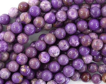 lilac gemstone natural stone cabochon jewelry supplies Pair Phosphosiderite round cabochon 5x3mm