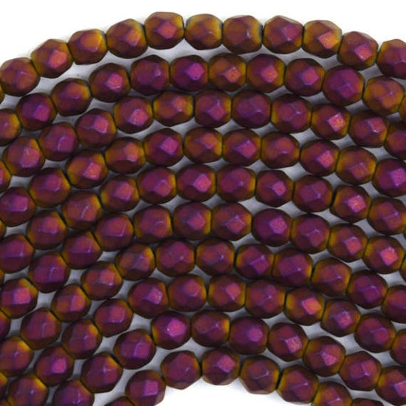 Red Hematite Beads 3mm faceted red...