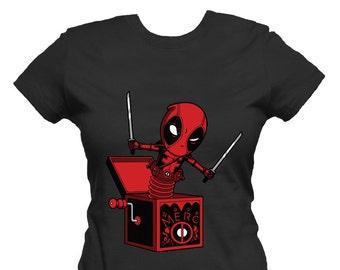6affa67e6 Deadpool T-shirt for Women