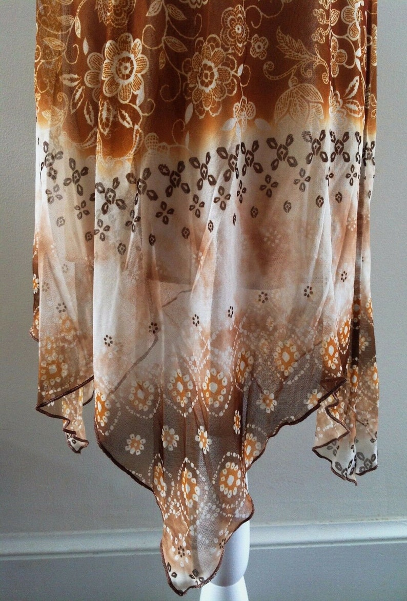 Vintage City Triangles Embellished Moroccan Inspired Spaghetti Strap Dress