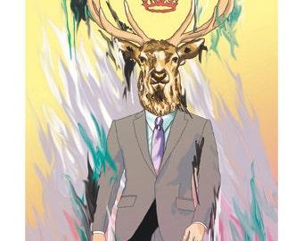 Lord deer print